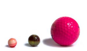 Paintball golf comparison